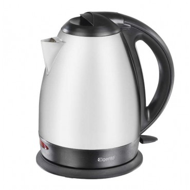 Cordless brushed stainless steel jug     kettle