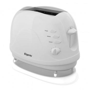 2 slice white toaster