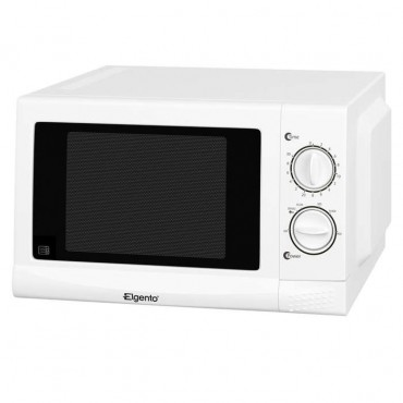 17 litre white microwave