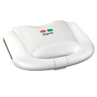 White 2 slice sandwich toaster