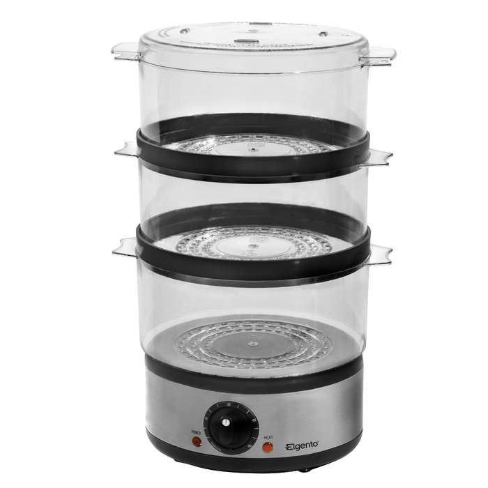 3 Tier Electric Steamer ~ Tier round steamer