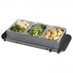 Three tray buffet server