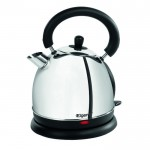 Traditional stainless steel dome kettle