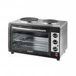 30 litre electric oven w/ 2 hot plates