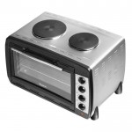 45 litre electric oven with 2 hot plates