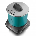 Deep fat fryer - teal