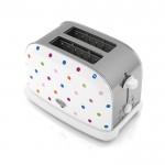 Polka dot 2 slice toaster