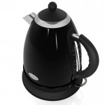 1.7 litre retro jug kettle - black