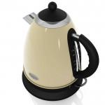 1.7 litre retro jug kettle - cream