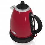 1.7 litre retro jug kettle - red
